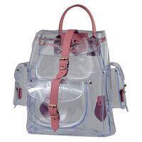防水透明背包-PVC應用