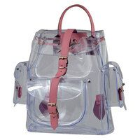 Welding Transparent Backpack - PVC applications