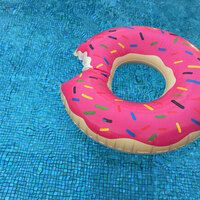 Printed Inflatable Swimming Ring - PVC Applications