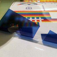 印刷透明靜電貼-PVC應用