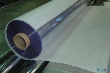 2.Sponge +Opaque PVC sheet