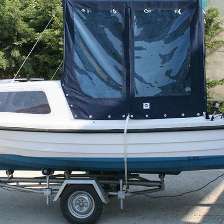 Boat Cover - PVC Sheet Application
