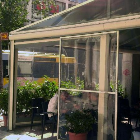 Transparent Outdoor Shades - PVC Sheet Application