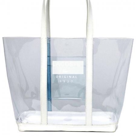 ماء انظر من خلال حقيبة الكتف الفينيل - تطبيقات ورقة PVC