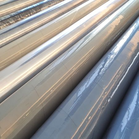 Double Polished PVC Sheets - Transparent and Waterproof - Custom Clear PVC Plastic Rolls in different gloss, tint, width and gauge.