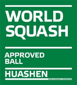 Ballon approuvé par World Squash
