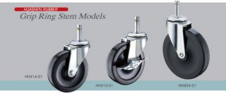 Friction Ring Stem Casters