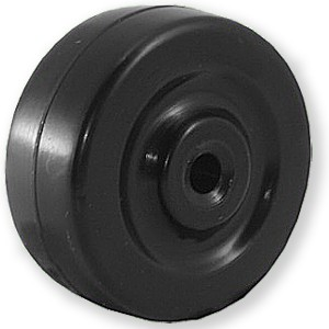 50mm Solid Soft Rubber Wheels - 50mm Solid Soft Rubber Wheels