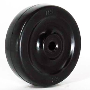60mm Solid Soft Rubber Wheels - 60mm Solid Soft Rubber Wheels