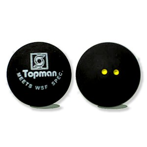 Double yellow dot squash balls - Squash Balls (Double Yellow Dot)