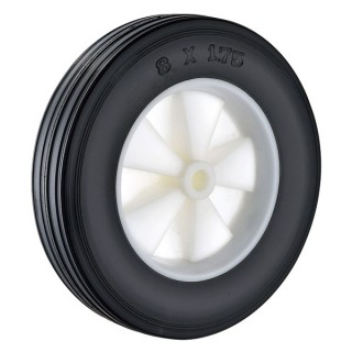 200 x 45mm Solid Rubber Wheels