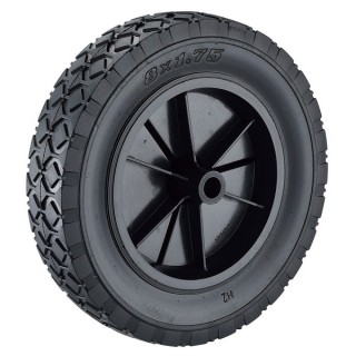 200 x 45mm Semi-Pneumatic Rubber Wheels - 200mm Semi-Pneumatic Rubber Wheels (250-4)