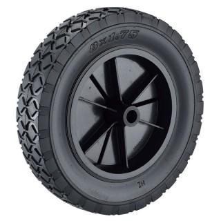 200 x 45 mm semi-pneumatische rubberen wielen - 200 mm semi-pneumatische rubberen wielen (250-4)