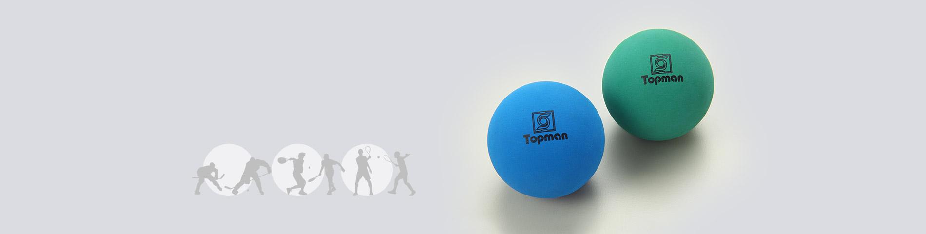IJshockey, racketballen,    Racquetballs &    Meer aangepaste ballen
