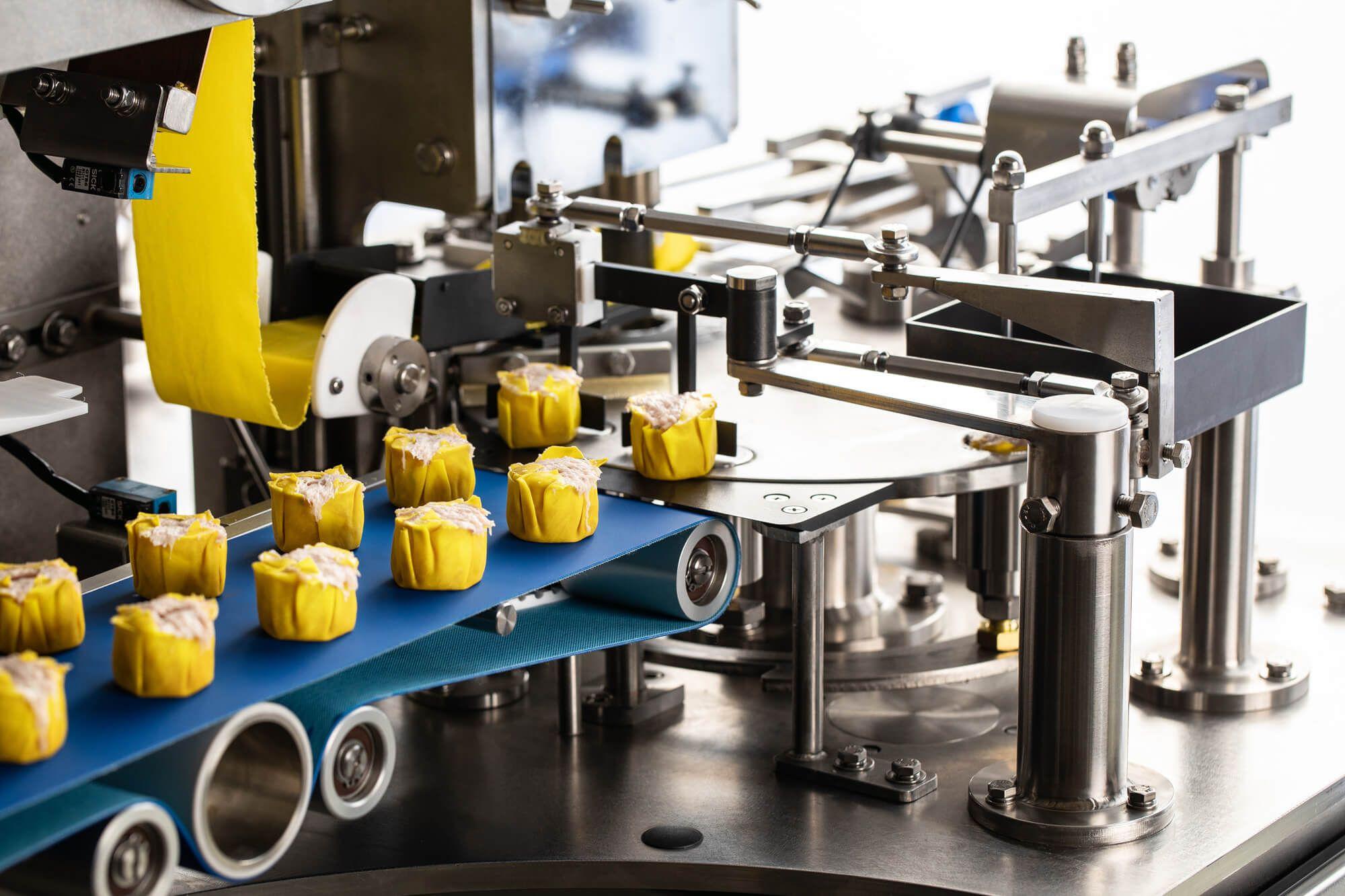 Potravinové riešenia pre potravinársku továreň