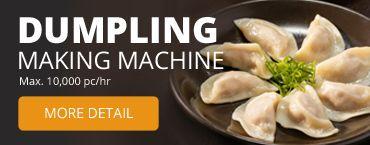 Dumpling die Machine maakt