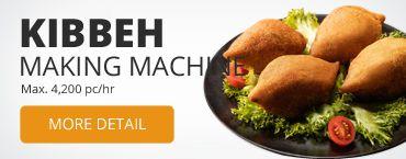 Kibbeh машина за производство