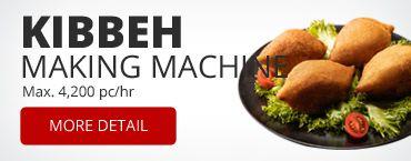 Kibbeh Making Machine