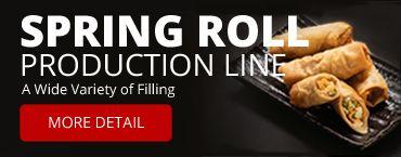 SR-24 Spring Roll produktionslinje