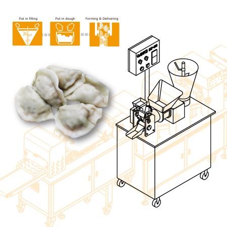 ANKO Viacúčelový plniaci a tvarovací stroj - návrh strojného zariadenia pre taiwanskú spoločnosť