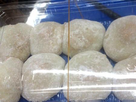 Palline di riso glutinoso fatte a mano