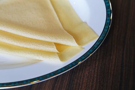 Mérsékelt rugalmasságú Samosa tészta.