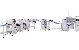 ANKO Linha de produção automática em camadas Paratha