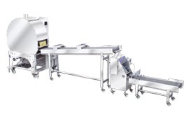 Automatický stroj na pečivo s jarnou rolkou a samosou