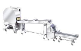Automatický stroj na výrobu jarných závitkov a pečiva Samosa