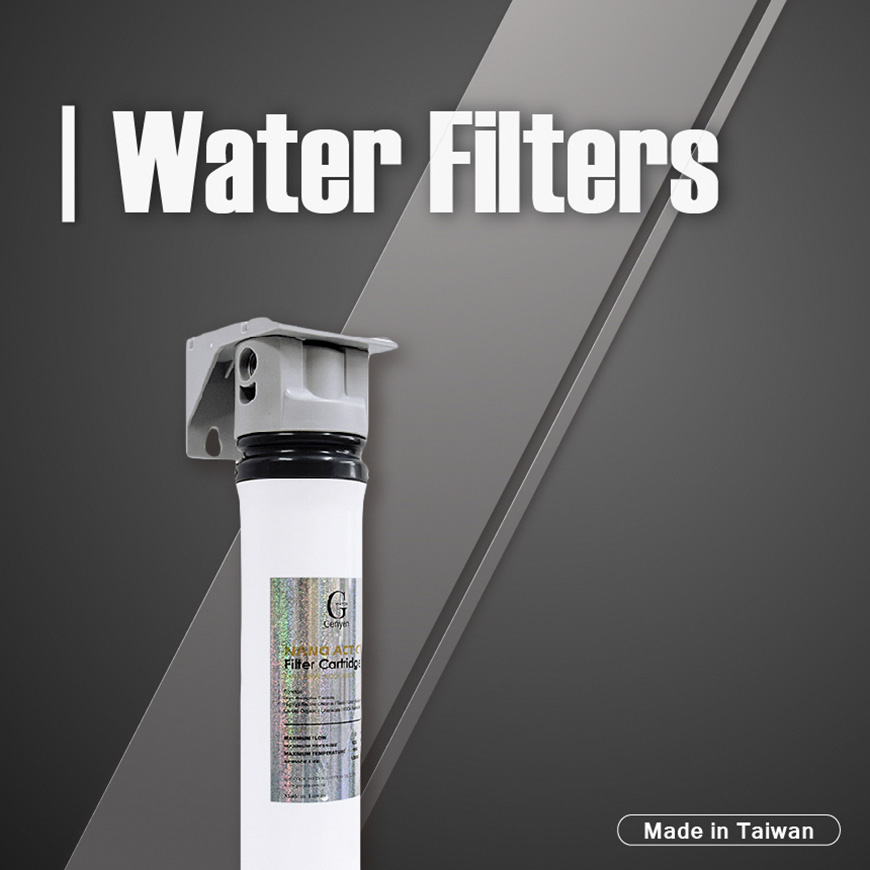 Quick Change Water Filters.