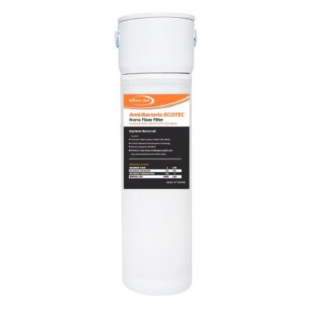 """Quick Change 10"""" Antibacterial ECO Water Filters - Bacteria Removal ECO Filter."""