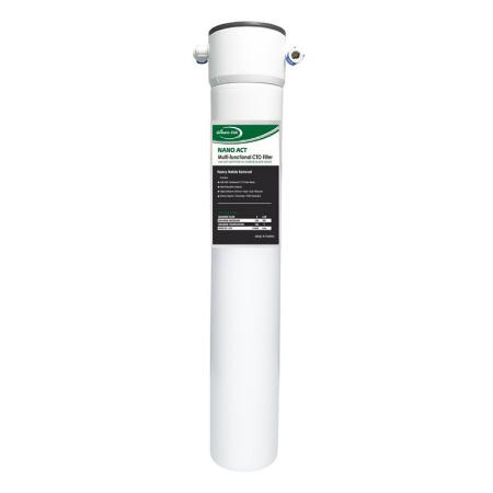 Quick Change 17 Inches NANO-ACT CTO Water Filters - Beverage Nano Water System.