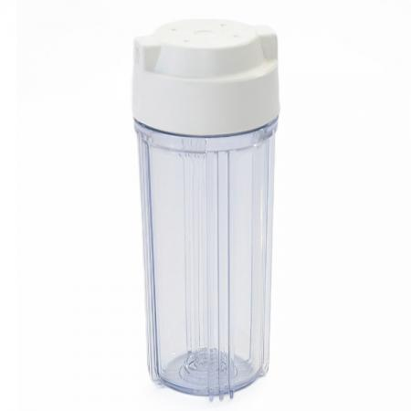 10 inches RO Water System Filter Housing - Clear Water Filter Housing.