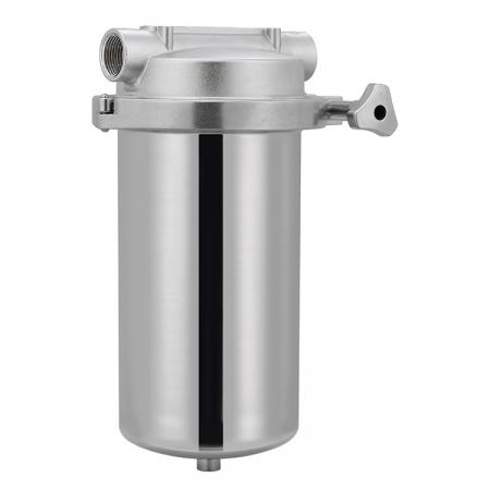 Stainless Steel Water Filtration System - Heavy Duty Housing Filters.