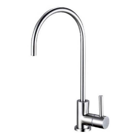 Stainless Steel 304 RO Gooseneck Faucet - Lead Free Water Filter Tap.