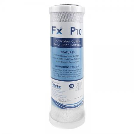 FX NSF Certified CTO RO Water Filters - NSF CTO Carbon Block Filter.