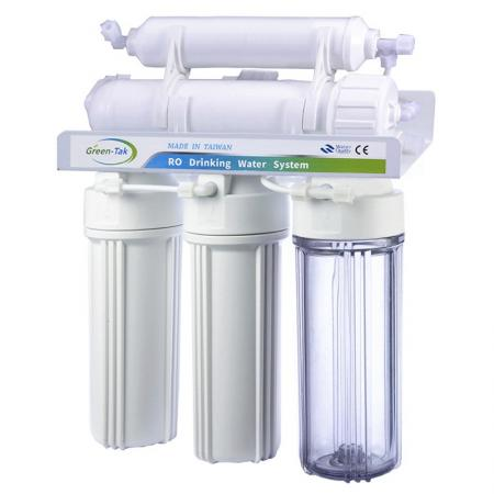Under Sink Residential RO System Without Pump - RO System Without Pump.