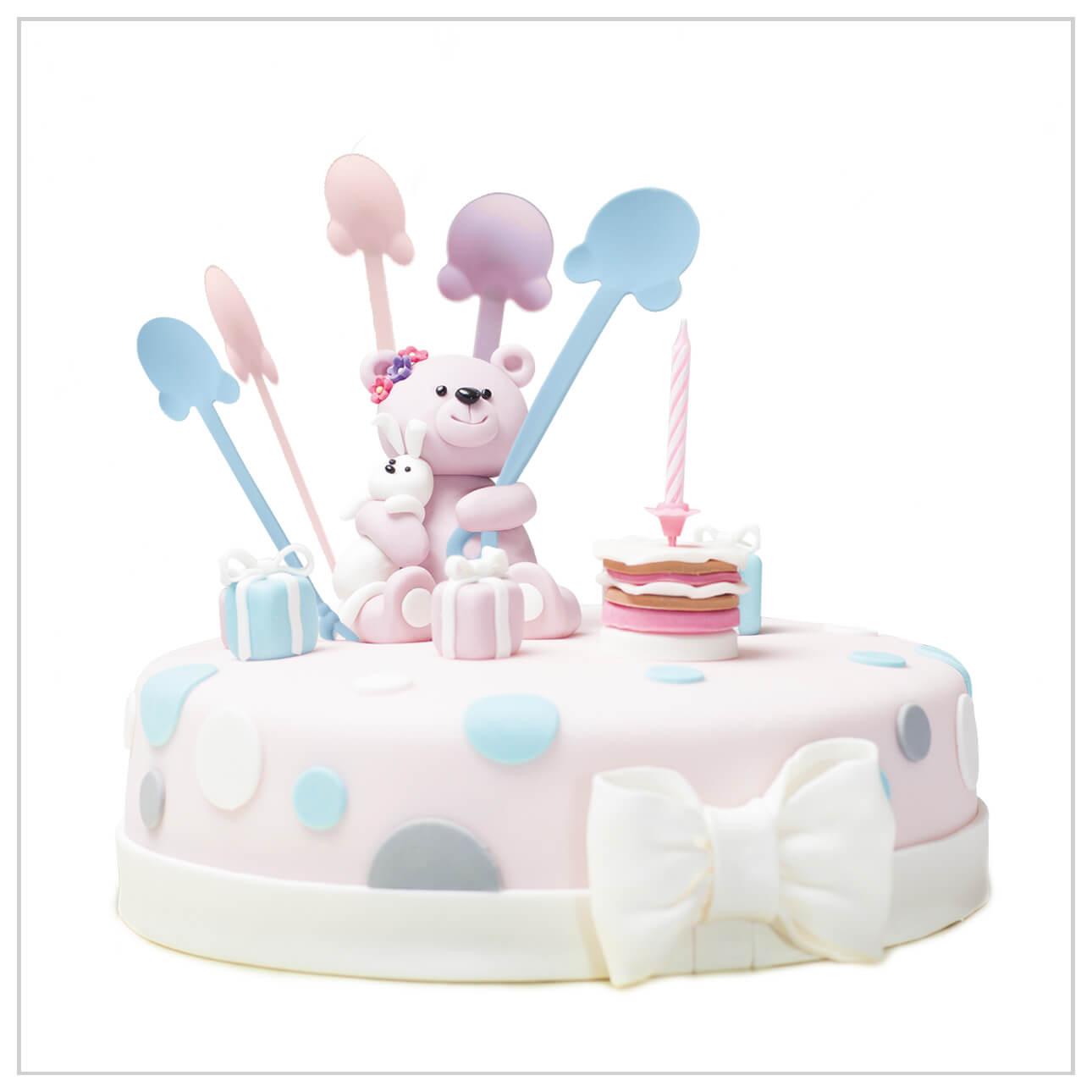केक चम्मच - केक चम्मच