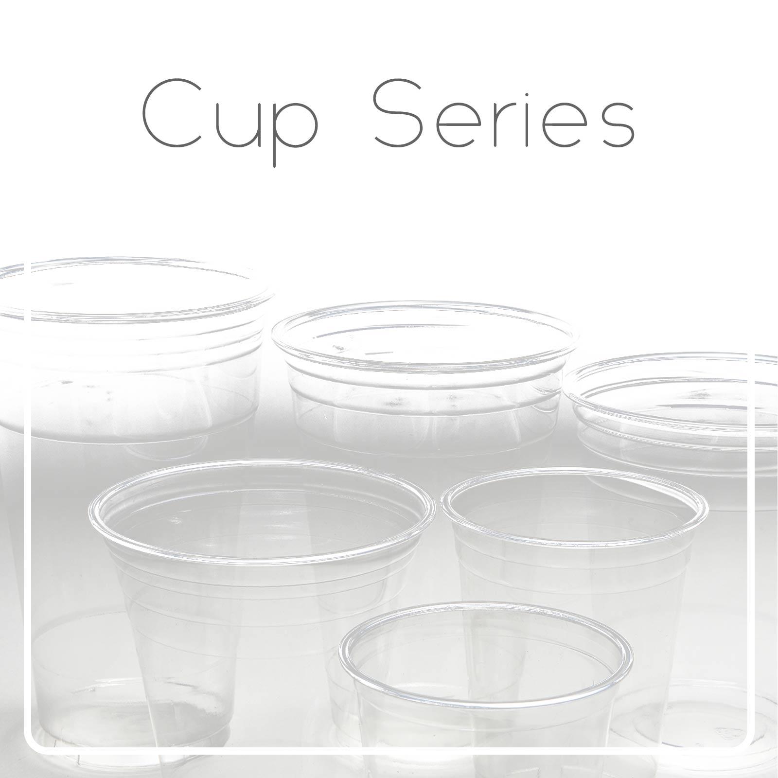 Taza plástica / taza de papel - El vaso de plástico para bebida o café.