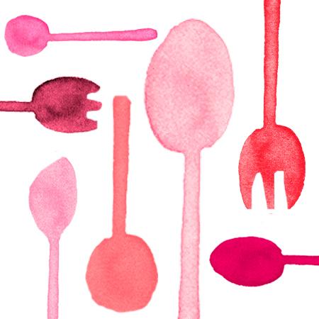 Passoin Red Cutlery - Tair Chu Passoin Red Cutlery