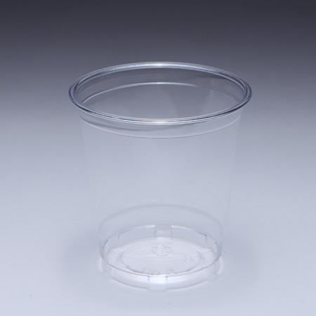 12oz (360ml) Piala PET - Piala PET 360cc dengan diameter mulut 98 mm, pengeluar boleh membantu LOGO tersuai pada cawan plastik.
