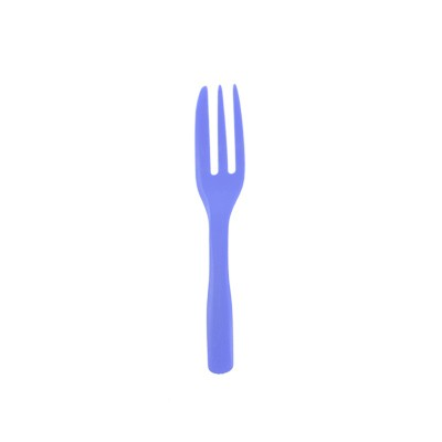 Lavender Color Cake Fork