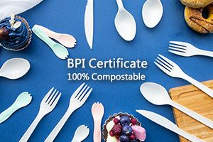 BPI Certificate Compostable Cutlery