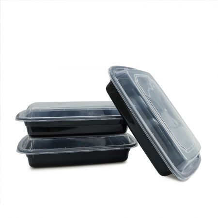 16oz Rectangle Food Container(480ml) - 480ml Heat-resistant Plastic Rectangle Food Container
