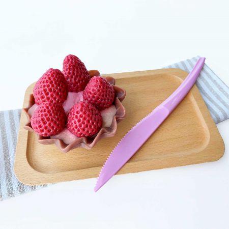 19cm Blueberry Color Cake Knife For Tart Cake