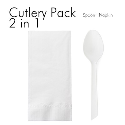 2 in 1 Spoon Set - You can combine any tableware you want.