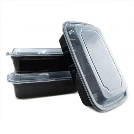 38oz Rectangle Food Container(1140ml) - 1140ml Heat-resistant Plastic Rectangle Food Container