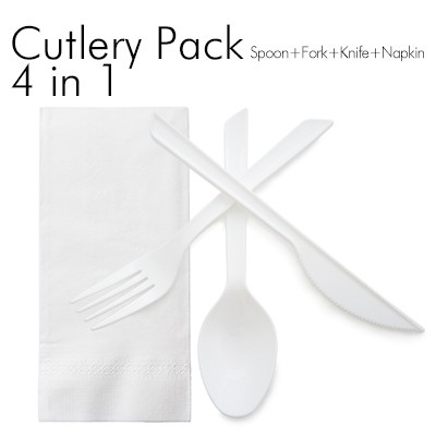 4 in 1 Cutlery Set - You can combine any tableware you want.