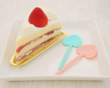 9cm Heart Spoon For Cake