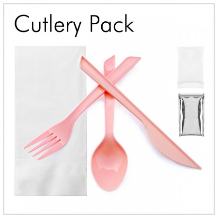 Plastic Cutlery Set - Disposable Plastic Cutlery Set